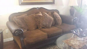 Beautiful Dark Brown Couches in Great Condition