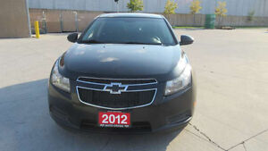 2012 Chevrolet Cruze, LT, Automatic, 3 years warranty available