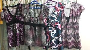 Blouses & Jeans all go for $5.00 each