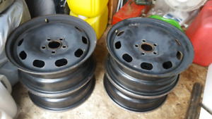 Steel rims-set of four