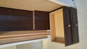 Closet organizer and rolling hanger with cloth cover