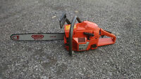 "Husqvarna Chainsaw 51 with 18"" bar"