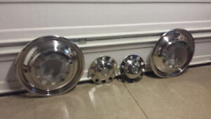 BIG TRUCK STAINLESS WHEEL LINERS