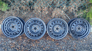 """15"""" Steel Rims For Sale"""