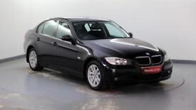 2007 BMW 3 Series 2.0TD 320d SE Diesel black Manual