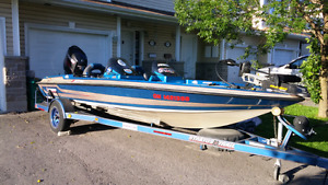 Bass boat Stratos 285Pro with 09 Etec 150hp HO