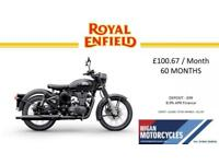 2018 ROYAL ENFIELD CLASSIC STEALTH.100.67 OVER 60M WITH A 99 DEP.8.9% APR