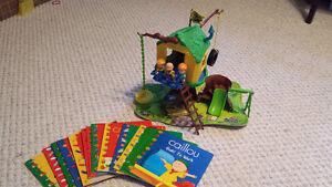 Caillou treehouse and books Regina Regina Area image 1