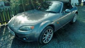 06 Mazda Mx5 Sport Convertible black leather interior clean car