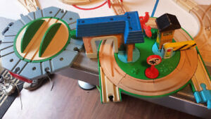 thomas the train wooden tracks playsets accessories