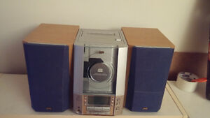 JVC system - CD, tape and radio