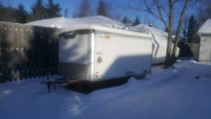 Jan 13 UPDATE! Streamline Snowmobile/Cargo Trailer 12'