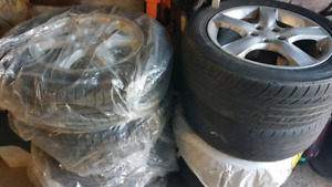 SUBARU IMPREZA OEM RIMS and winter tires