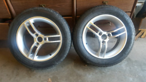 Kenda rims and tires for Can Am Spyder
