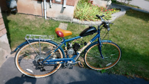 Bike with gas motor (not working)