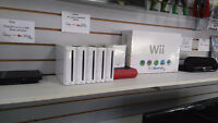 Nintendo Wii systems Now on sale