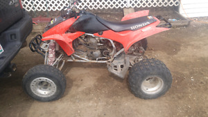 For sale 2004 trx 450r
