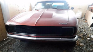 1967 Camaro $18,000.00 or Best Offer