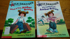 2 Amber Brown series books by Paula Danziger