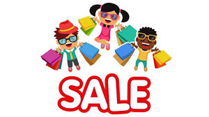 $0.99 Cent Children's Clothing WHITE TAG sale! May 26 to 28