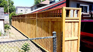 FREE ESTIMATE! END OF SEASON & SAVE $S OFF UR DECK OR FENCE.