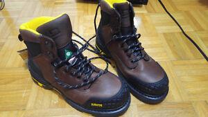 Men's Dakota Work Boots - Size 10 US