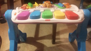 Fisher Price Piano Activity Table