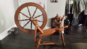 Spinning wheel of HAVE