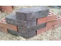 Never used Dark Brown Rustic Multi Colour Angled Corner Brick 65mm Ratcliffe on Soar