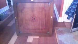 Antique Carrom Board (with all game pieces)