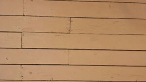 Red Cedar decking and spindles