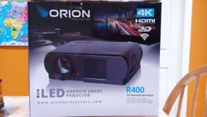 Projector intelligent android 4k Orion R-400/ Android smart proj
