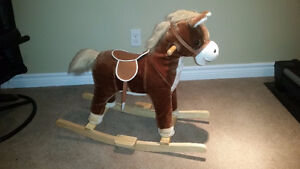 Musical Rocking Horse with batteries and delivery!