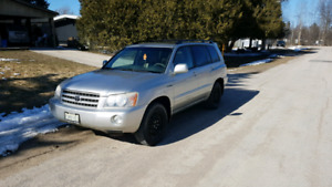 2001 Toyota Highlander Limited