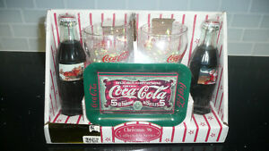 Coca-Cola Christmas 1996 Collectable Series Never Opened!!