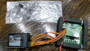 Hobbyking KK2.1.5 Flight Control Board + Turnigy 9x 8CH V2 Rx