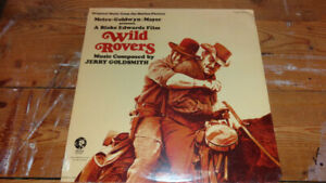 SEALED RECORD ALBUM WILD ROVERS MOTION PICTURE MUSIC GOLDSMITH