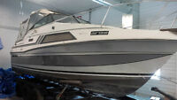 1985 Carver Montego 2657 Cuddy boat with triple axel trailer
