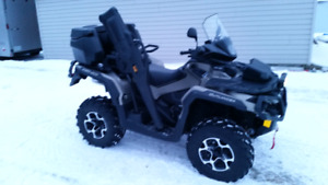 1000cc  Can am  Outlander max Limited edition