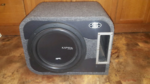 "12"" Kaption SPL Subwoofer"