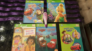 French Leap Frog Tag Pen with 5 French books