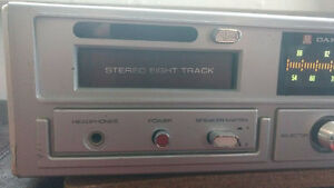 JIL Candle JS4141 Eight Track Player & Radio