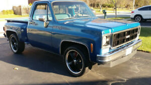 1973 GMC  Chevrolet Stepside Short Box Pickup