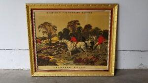 Herrings Fox- Hunting Scenes, Print on Canvas