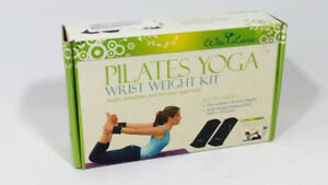 Way Lana Pilates Yoga Wrist Weight Kit 1 lb DVD included 45 min