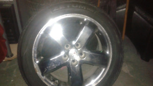 G6 rims and rubber