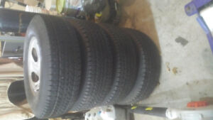 Ford 150 rims and tires 250