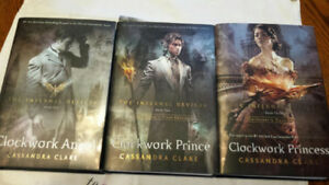 Various Book Series For Sale - Infernal Devices, Vampire Knight