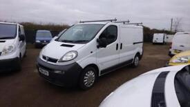 Vauxhall Vivaro 1.9DTi 2700 SWB, 88000 miles, Fully Serviced inc New Cambelt