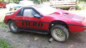 1984 fiero drag car